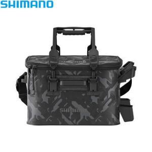 シマノ ロッドレスト タックルバッグ 27L2 (ハードタイプ) BK-021R ウェーブカモ ■カ...