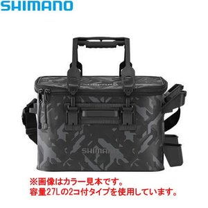 シマノ ロッドレスト タックルバッグ 27L4 (ハードタイプ) BK-021R ウェーブカモ ■カ...