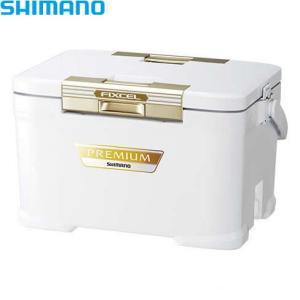 シマノ フィクセル・プレミアム 300・アイスホワイト ZF-030R (クーラーボックス) ≪シマ...