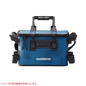 シマノ ロッドレストタックルバッグ(ハード) 27L-4 ドレイニングブルー BK-021R (EV...