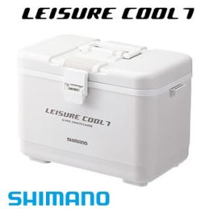 シマノ 小型クーラーボックス レジャークール7 LC-007L ピュアホワイト