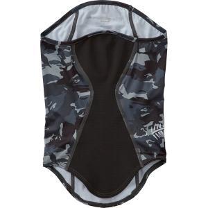 ハヤブサ ヒョウオンフェイスマスク F Y3223 (冷感グッズ ネックカバー) グレーカモ ■素材...