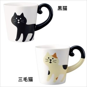 超ロングセラーのしっぽマグが新デザインにリニューアル!更に黒猫のみだったラインナップに三毛猫が追加!...