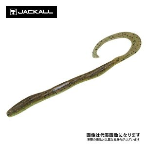 ジャッカル フリックカーリー 4.8インチ ブラックバス 琵琶湖 バスフィッシングに最適なジャッカル...