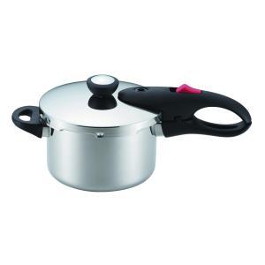 軽量単層NEO 片手圧力鍋3.0L HB-1734 パール金属  圧力鍋|fishingmax-webshop