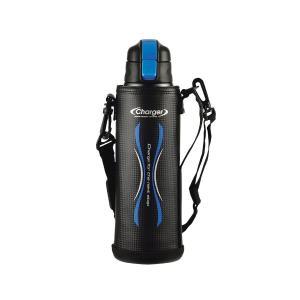 【在庫処分特価】 エナジーチャージャーダイレクトボトル 1100ml ブルー HB-3062 ドウシシャ  水筒 スポーツ|fishingmax-webshop