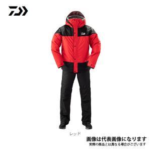 ダイワ レインマックス ウィンタースーツ レッド Lサイズ DW-35009