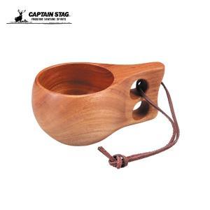 キャプテンスタッグ ウッドブレス ホールマグ180ML UP-2566 アウトドア キャンプ 用品 ...