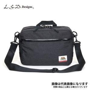 LSDデザインズ CA パッドショルダー A5 エクストラワイド スミブラック フィッシング バッグ...