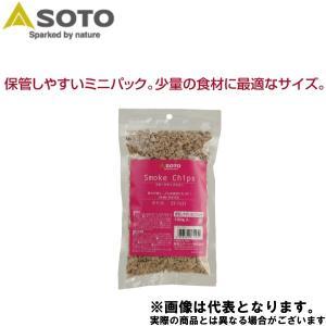 SOTO スモークチップスミニ さくら ST-1531 燻製 チップ|フィッシングマックス