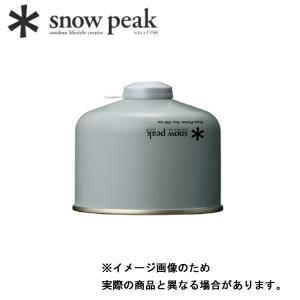スノーピーク ギガパワーガス250イソ GP-250SR 燃料 ガス キャンプ