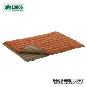 【ロゴス】2in1・Wサイズ丸洗い寝袋・2(72600680)|fishingmax-webshop