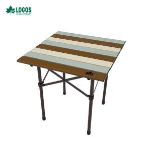 ロゴス LOGOS LIFE ロールサイドテーブル ヴィンテージ 73185013 テーブル アウト...