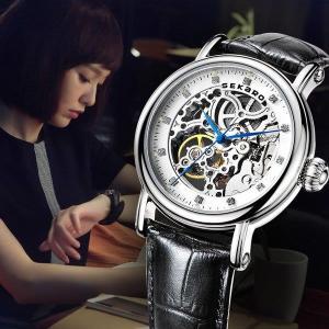 腕時計 クロノグラフ レディース 防水 SEKARO腕時計 ウェーブセプター うでどけい ブランド|fit-001