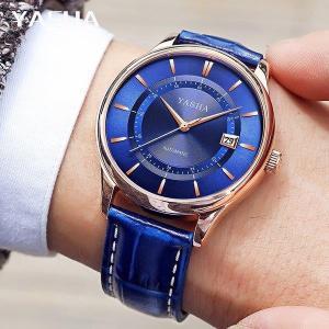 腕時計 クロノグラフ メンズ 防水 YASHA腕時計 ウェーブセプター うでどけい ブランド|fit-001