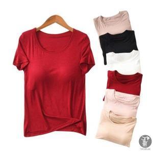 tシャツ 半袖 レディース 綿tシャツ 丸首 ルームウェアtシャツ シンプルベーシッ 無地 ゆったり ふんわり 代引不可 fit-001