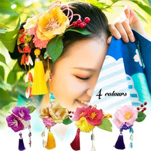 卒業式 袴 髪飾り かんざし 振袖 成人式 髪飾り 和装 着物 花 髪飾り 結婚式 和服 和装 着物 浴衣|fit-001