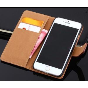 スマホケース iPhone7 財布型ケース カバー アール コンパクト エクスペリア レザー 革 ケース 本革|fit-001