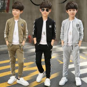 子供服 韓国 秋着 長袖シャツ ブラウス+パンツ 2点セット キッズ 上下セット パンツセット ジュニア 男の子 子ども服|fit-001
