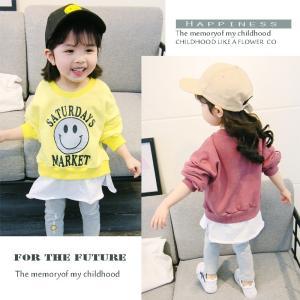 子供服 韓国 秋着 長袖シャツ ブラウス+パンツ 2点セット キッズ 上下セット パンツセット ジュニア 女の子 子ども服 お嬢様風|fit-001