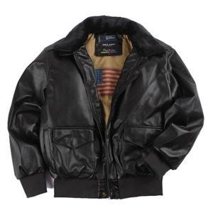MA-1ジャケット メンズ  革ジャケット レザー PU アウター ブルゾン フライトジャケット ミリタリージャケット ファー付き 冬用|fit-001