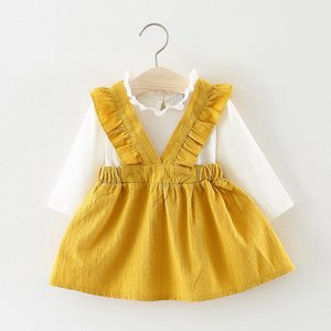 ベビードレス 子供服 女 キッズワンピースお呼ばれ ベビー レッドちゃん 長袖  七五三 可愛い カラードレス カジュアル|fit-001