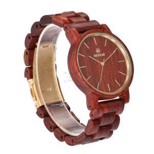 檀木 腕時計 赤檀 木製 木 赤 上品 普段着 卒業式 クォーツ ペアルック カップル 天然木 クォーツ時計 木の温もり おしゃれ かっこいい 新作 大人気 fit-001