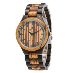 腕時計 クォーツ メンズ 黒檀 木製 木 天然 シマウマ 上品 オシャレ いい香り 天然木 シンプル 木の温もり シンプル 上品 ファション おしゃれ 大人気 fit-001