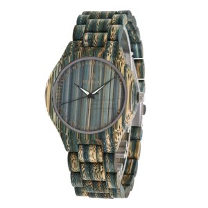 メンズ レディース クォーツ時計 竹製 木製腕時計 カップル 木の温もり カッコイイ 木の香り 通勤 職場 シンプル 上品 品質 fit-001