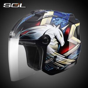 SOL SL-27S ヘルメット ジェットヘルメット ジェット bike helmet バイク用品 ...