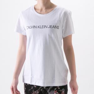 カルバンクライン Calvin Klein レディーストップス CKJ・21S CORE INSTIT LOGO J20J207879ギフトラッピング無料|FIT HOUSE