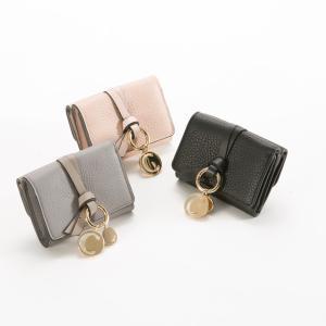 クロエ chloe 折財布 ALPHABET MINI TRI-FOLD TINYウォレット 17AP946/H9Qギフトラッピング無料|FIT HOUSE