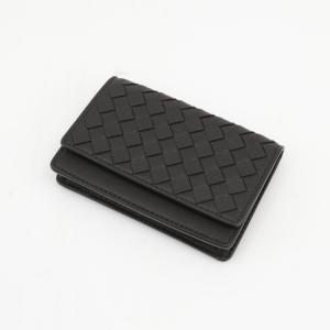 ボッテガヴェネタ BOTTEGA VENETA カードケース・名刺入れ イントレラム 174646V001N ギフトラッピング無料|FIT HOUSE