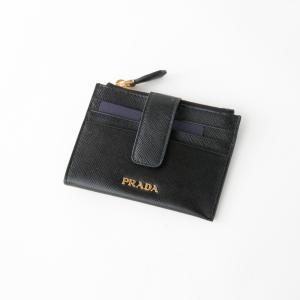 プラダ PRADA カードケース SAF.METALファスナー小銭+カードケース/NERO 1MC026-QWAギフトラッピング無料 FIT HOUSE