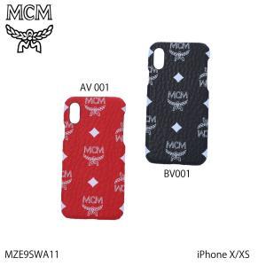 エムシーエム MCM スマホケース VISETOSホワイトロゴIPHONE X MZE9SWA11ギフトラッピング無料|FIT HOUSE