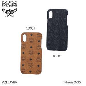 エムシーエム MCM スマホケース VISETOSロゴIPHONE X MZE8AVI97ギフトラッピング無料|FIT HOUSE
