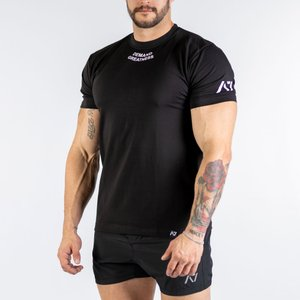 IPF認定Tシャツ(メンズ S・M・L・XL・2XLサイズ)IPF MEET SHIRT  A7 パワーリフティング大会用用 筋トレ トレーニング fitnessclub-y