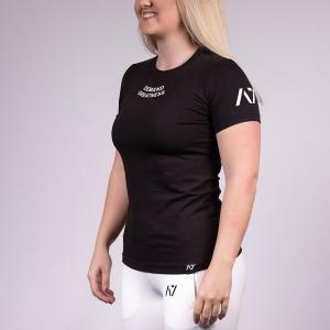 IPF認定Tシャツ(レディース S・M・Lサイズ)IPF MEET SHIRT A7 パワーリフティング大会用用 筋トレ トレーニング fitnessclub-y