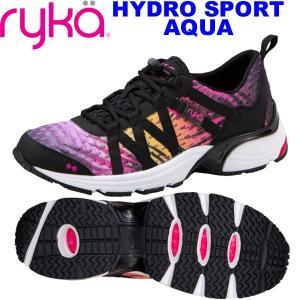 RYKAライカ HYDRO SPORT AQUA (マルチカラー) C8054M-5004(22.0〜25.5cm/レディース)ハイドロスポーツアクアフィットネス|fitnessclub-y