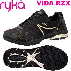[RYKA]ライカ VIDA RZX 〔ブラック×ゴールド〕 D1996M-6005(22.5〜26.5cm/レディース/メンズ)<ヴィーダRZX>【19SS03】|fitnessclub-y