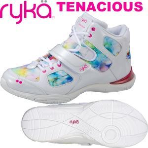 RYKAライカ TENACIOUS (フラワー×ホワイト) E6643M-C103(26.5cm/メンズ)テナシオス