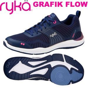 RYKAライカ GRAFIK FLOW (ネイビー) F4241M-1400(22.5〜25.0cm/レディース)グラフィックフロウ fitnessclub-y
