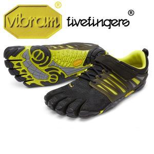 [vibram fivefingers] ビブラムファイブフィンガーズ Men's V-Train(ブイトレイン)〔Black/Green〕(メンズ)/送料無料|fitnessclub-y