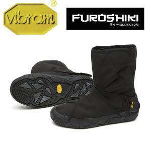 vibram ビブラム FUROSHIKI OSLO WP(BLACK)(メンズ/ふろしき・包みこむ保温&防水ブーツ)|fitnessclub-y
