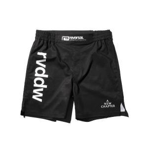 リバーサル ショートパンツ ポケット付き ブラック 21SS06 SHORT STYLE ACTIVE PANTS reversal 総合格闘技 rvddw|fitnessclub-y