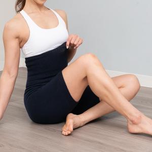 腹巻きパンツ ODUS オドアス ホールガーメント 温活 冷えとり 日本製 マタニティ ユニセックス 冷え性 過敏性腸症候群 敏感肌 トルファン綿 日本製|fitnessclub-y