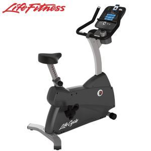 ライフフィットネス C3 GOコンソール  家庭用 アップライトバイク  フィットネスバイク  代引不可 Life Fitness|fitnessclub-y