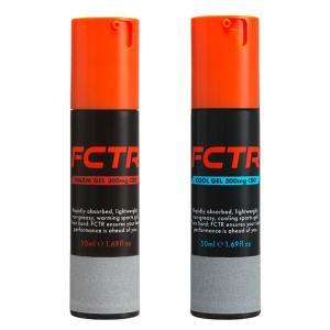 FCTRファクター2種セット(ウォーム&クール) CBDマッサージジェル FCTR LOTUS スポーツマッサージ 日本製|fitnessclub-y