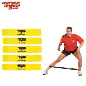 パフォームベター ミニバンド ライト5本パック(通常サイズ:直径22.9cm) Minibands [Perform Better Japan]|fitnessclub-y