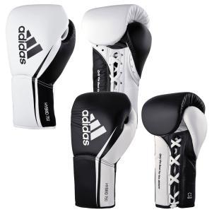 アディダス ハイブリッド750 試合用ボクシンググローブ(8オンス)  adidas martial arts 最高級本革 fitnessclub-y